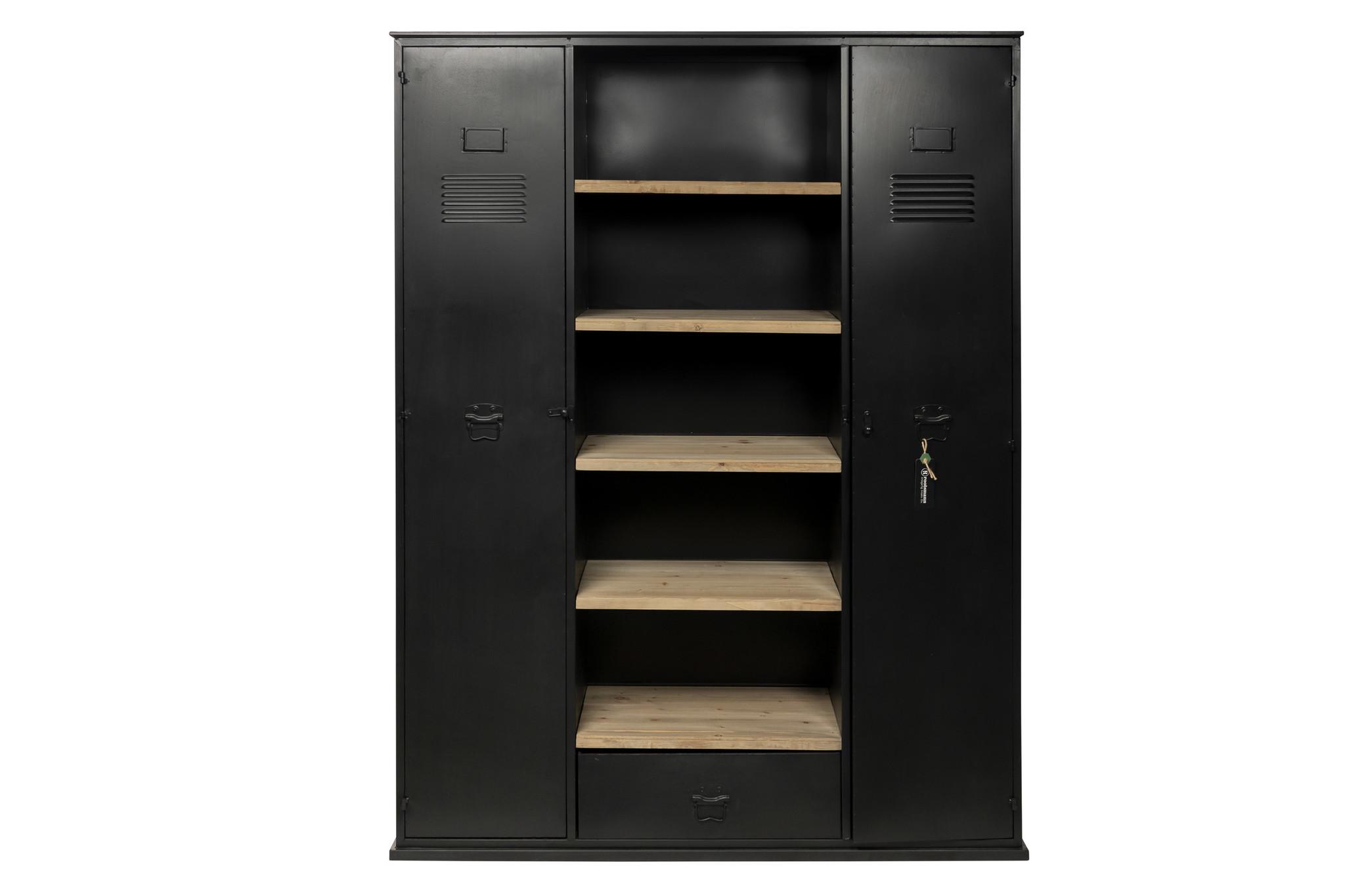 Rootsmann Industri�le boekenkast met deuren