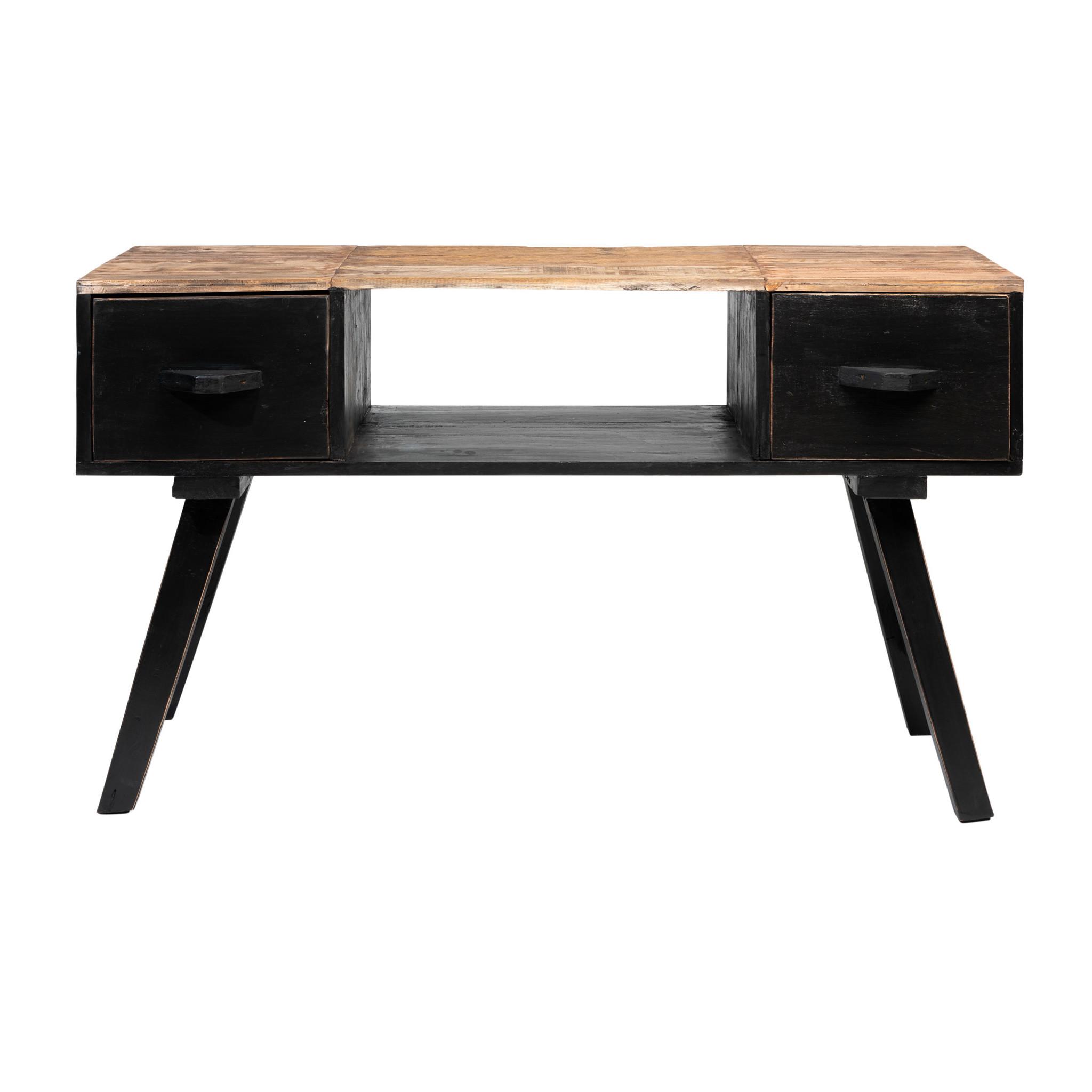 Rootsmann tv-meubel Retro-touch | zwart