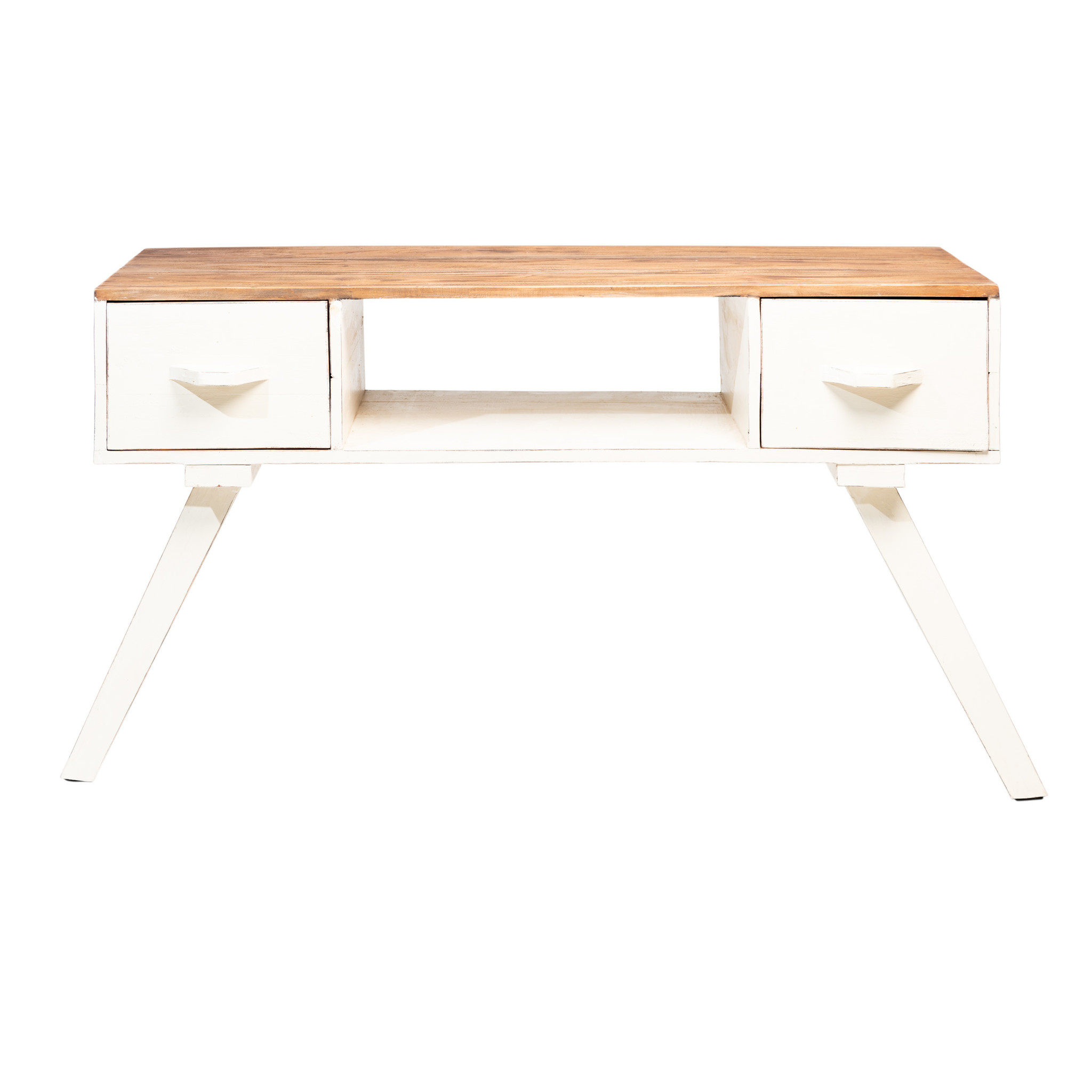 Rootsmann tv-meubel Retro-touch | wit