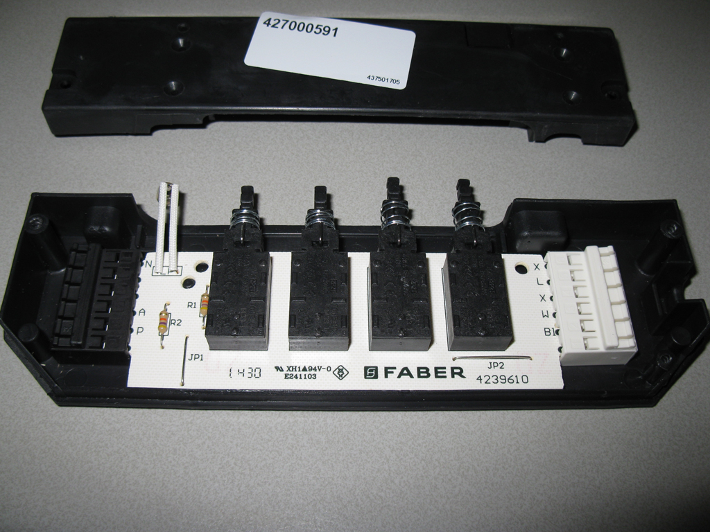 FABER BEDIENINGSPANEEL PRINTPLAAT M6 (PCB 500)