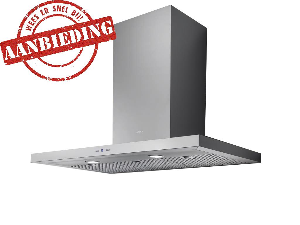 ELICA TRENDY/2 H4 60 CM RVS wand afzuigkap voor montage aan de muur   >> SPECIALE ZOMER ACTIE, NU MET EXTRA KORTING<<  - 600 m3/h, 290W - max. 66 db(A) - 2x20W halogeen verlichting - soft touch bedieningspaneel   - 2 vetfilters  - schacht instelbaar  - afvoeraansluiting 150 mm  Accessoires optioneel: - F00262/3S = koolstoffilter - F00262/3S = LongLife koolstoffilter   Wat is een LongLife koolstoffilter?  Naast standaard actief koolfilters zijn er de afgelopen jaren nieuwe types actief-koolfilters ontwikkeld die u meerdere malen gebruiken kunt.  Dankzij de multi-laag technologie verhoogt het Long life filter de filtercapaciteit nog meer. D.m.v. een voorfiltratie aan het begin van de  dubbele laag worden de grootste vet- en vuildelen opgevangen.   De tweede filtratie, met een verhoogde concentratie aan actieve-kool deeltjes, garandeert een optimale reiniging van de lucht.  Het filter kan elke 2-3 maanden in de vaatwasmachine worden gewassen, op deze wijze behaalt u een maximale standtijd van 2jaar. Laat het filter op kamertemperatuur en in verticale stand drogen, zodat het water er vanzelf uitdruipt.   Vervolgens nadrogen en reactiveren door het filter een half uur in de oven te leggen op 60 tot 80° C.