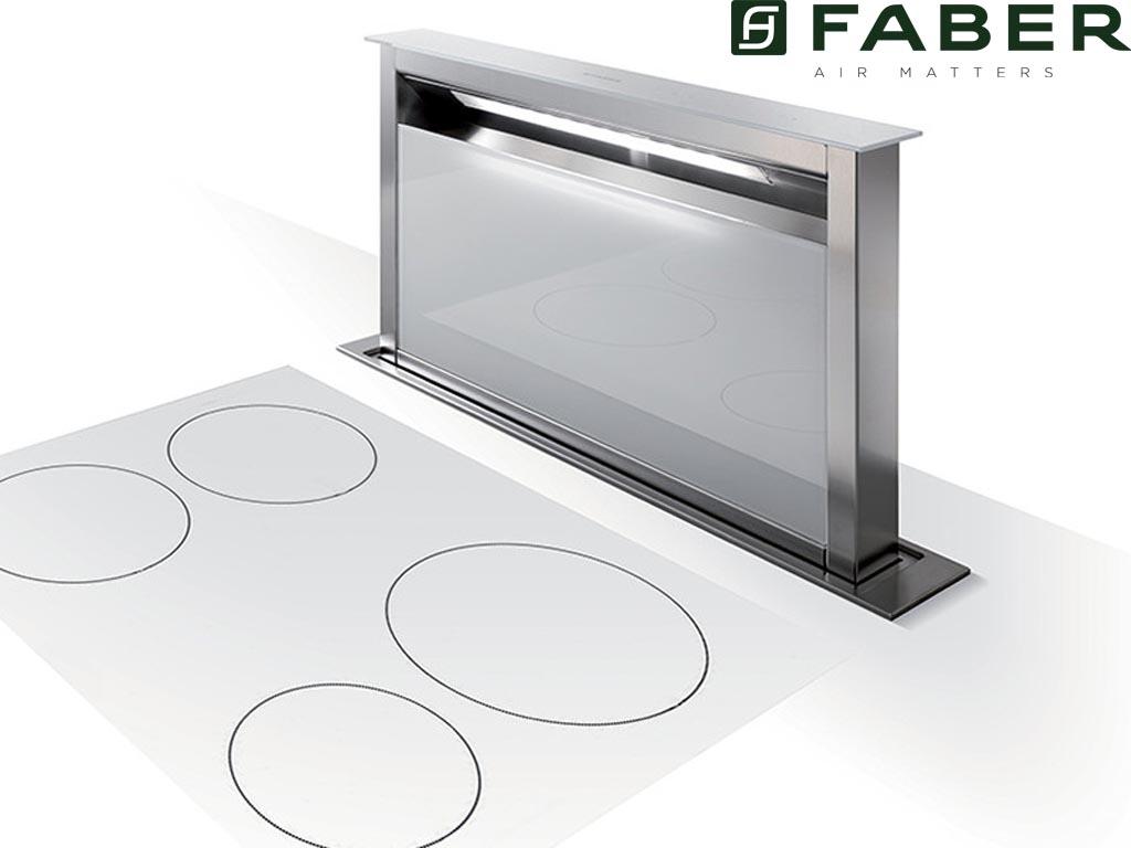 FABULA PLUS 90 CM RVS/WIT