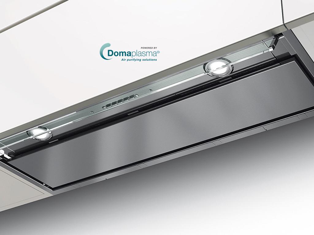 FABER IN-NOVA-Dp PREMIUM RVS 90 CM + Domaplasma IQ-T500
