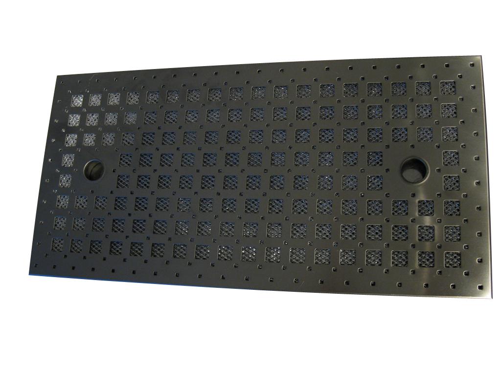 GUTMANN VETFILTER 'Krea' RVS 500x250 MM