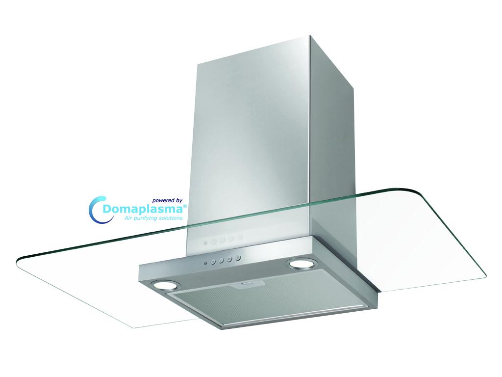 FABER NICE-Dp 60 CM RVS/GLAS + Domaplasma