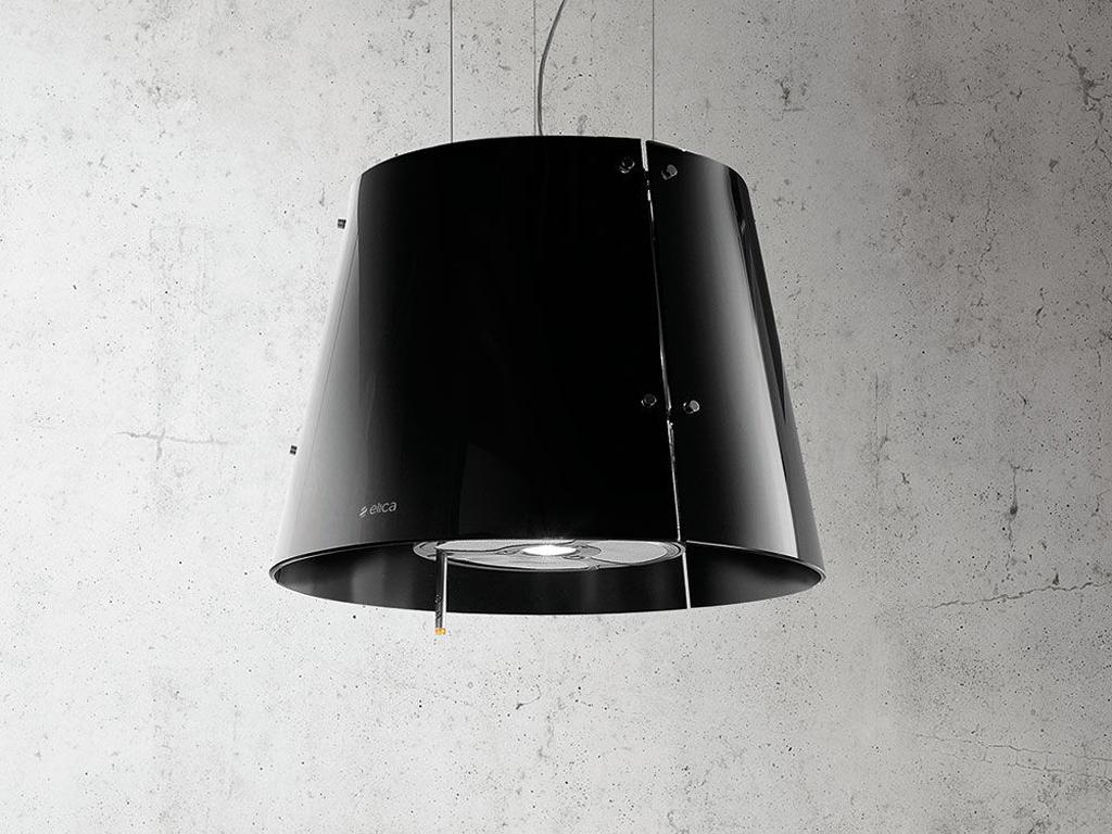 ELICA GRACE 51 CM RVS/ZWART GLAS  * sfeer verlichting * verlichting is dimbaar * recirculatie mbv LongLife koolstoffilters  - recirculatie-uitvoering - wand afzuigkap geschikt voor montage aan de muur - eiland afzuigkap geschikt voor montage aan het plafond - rvs / zwart melkglas - 520 m3/h, 309W - geluidsniveau max. 66 dBA - 1x 5W 4000K led lamp +  3x28W halogeen kaarslampen  - electronische druktoetsen op staaf - 4 vaatwasserbestendige vetfilters  - incl.