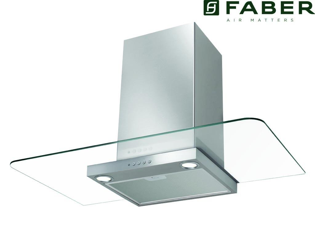 FABER NICE SRM 90 CM RVS/GLAS